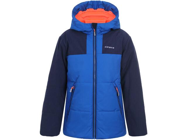 buy popular 71f79 4e4f2 Icepeak Kaplan Giacca Ragazzo, aqua